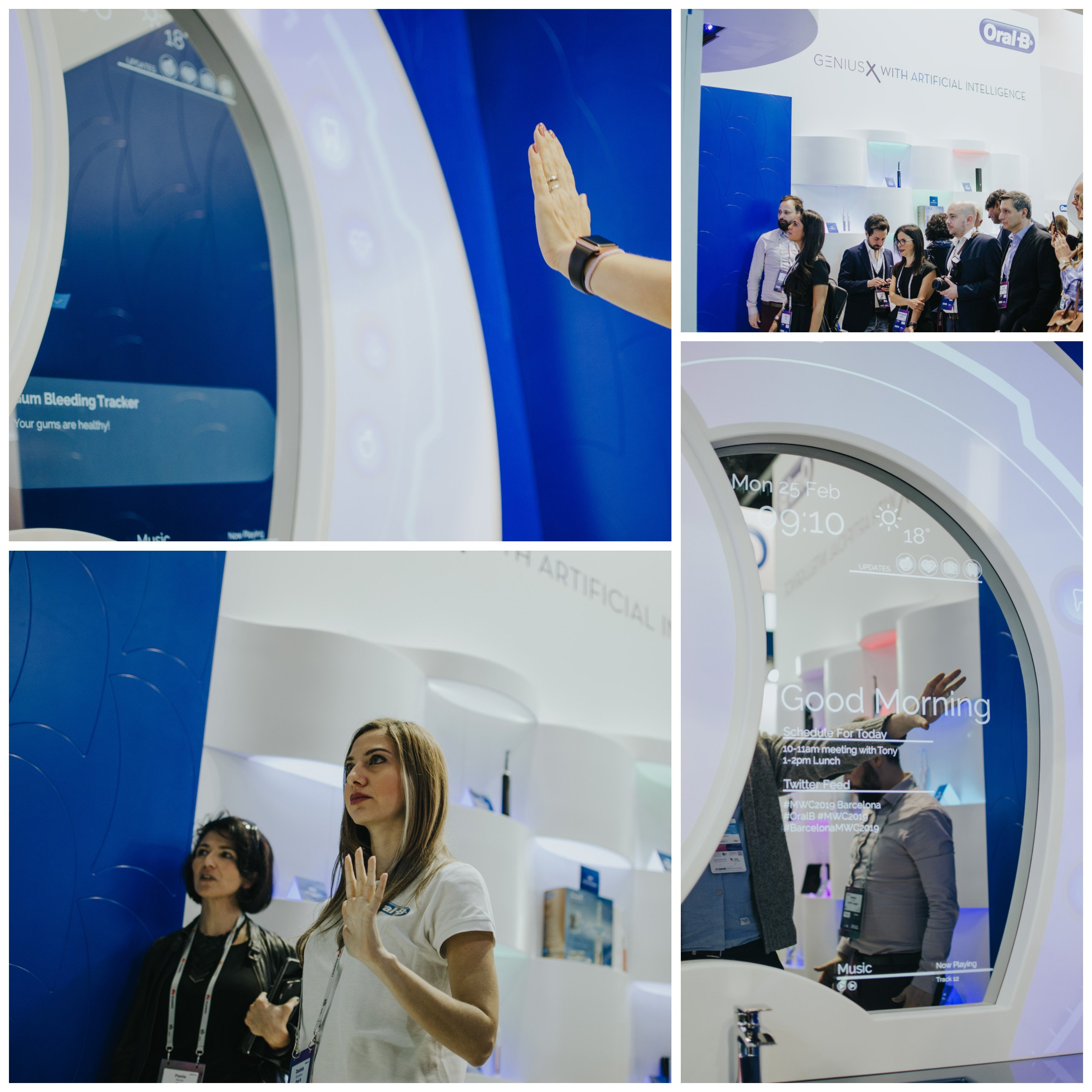Oral B MWC Event Activation
